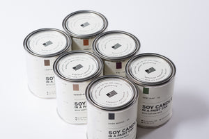 Paint Can Soy Candle | Sandalwood | Manready Mercantile - Case of 6