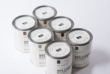 Load image into Gallery viewer, Paint Can Soy Candle | Leather | Manready Mercantile - Case of 6