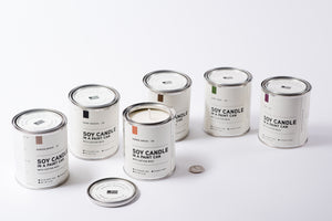 Paint Can Soy Candle | Leather | Manready Mercantile - Case of 6