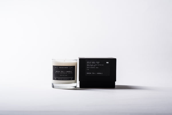 The Bold Series Soy Candle - Green Tea + Neroli
