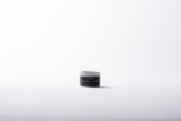 The Bold Series Soy Candle | Travel Size | Labdanum + Leather