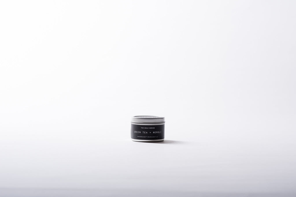 The Bold Series Soy Candle | Travel Size | Green Tea + Neroli