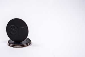 Coaster 4 Pack SF | Black | Manready Mercantile - Case of 5 Packs