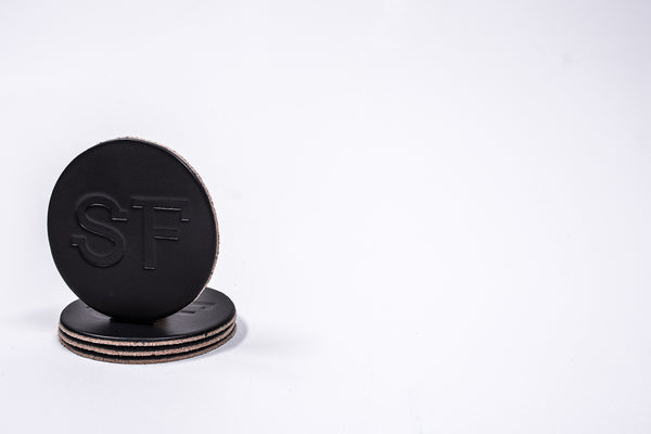 Coaster 4 Pack SF | Black | Manready Mercantile