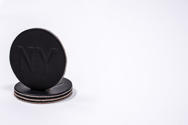 Coaster 4 Pack NY | Black | Manready Mercantile