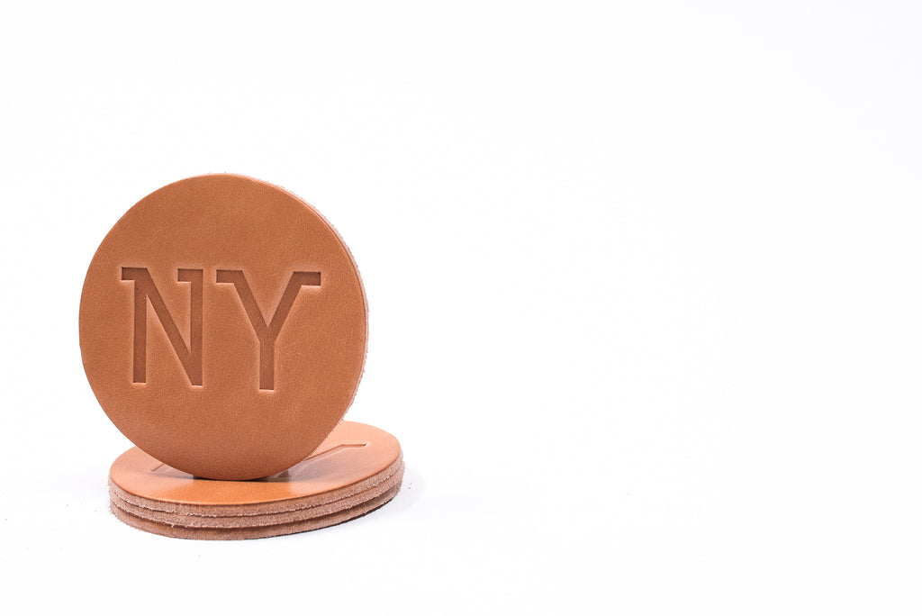 Coaster 4 Pack NY | Russet | Manready Mercantile