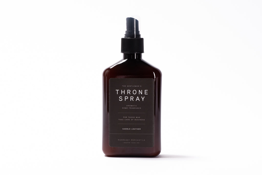 Throne Spray | Saddle Leather | Manready Mercantile