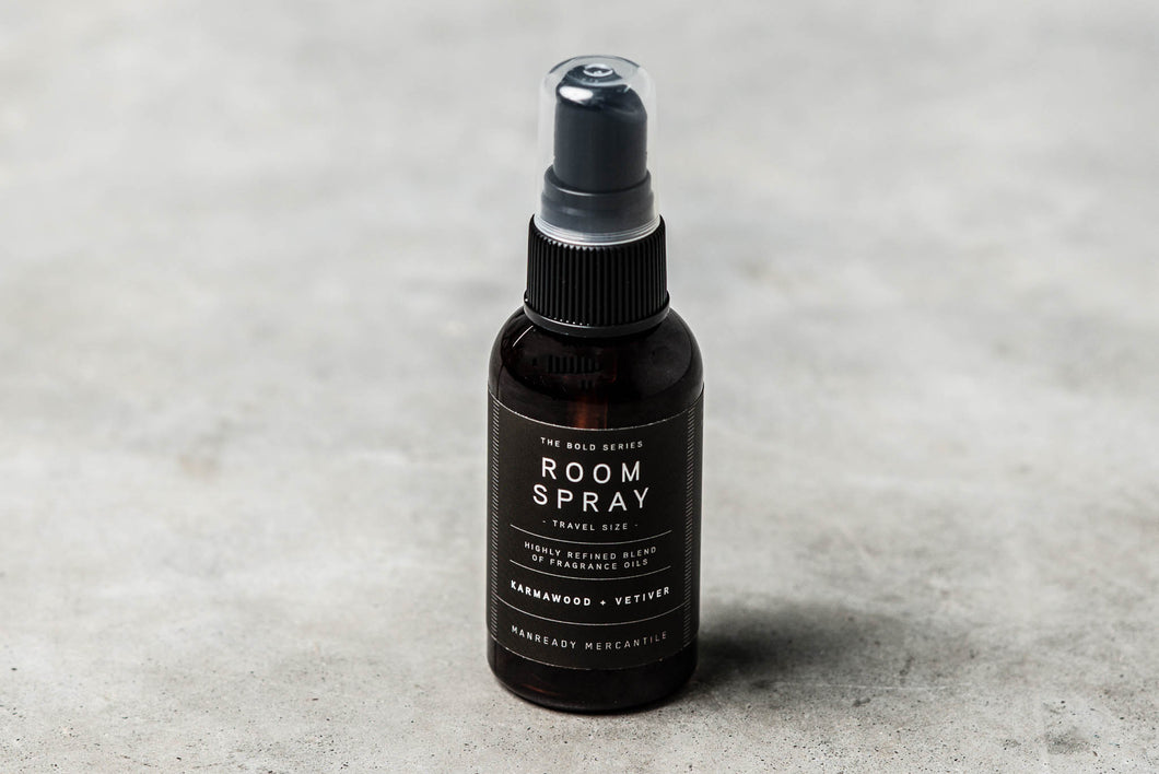 Travel Size Bold Series Room Spray | KARMAWOOD + VETIVER - Case of 6