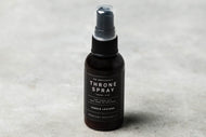 Travel Size Throne Spray | SADDLE LEATHER - Case of 6