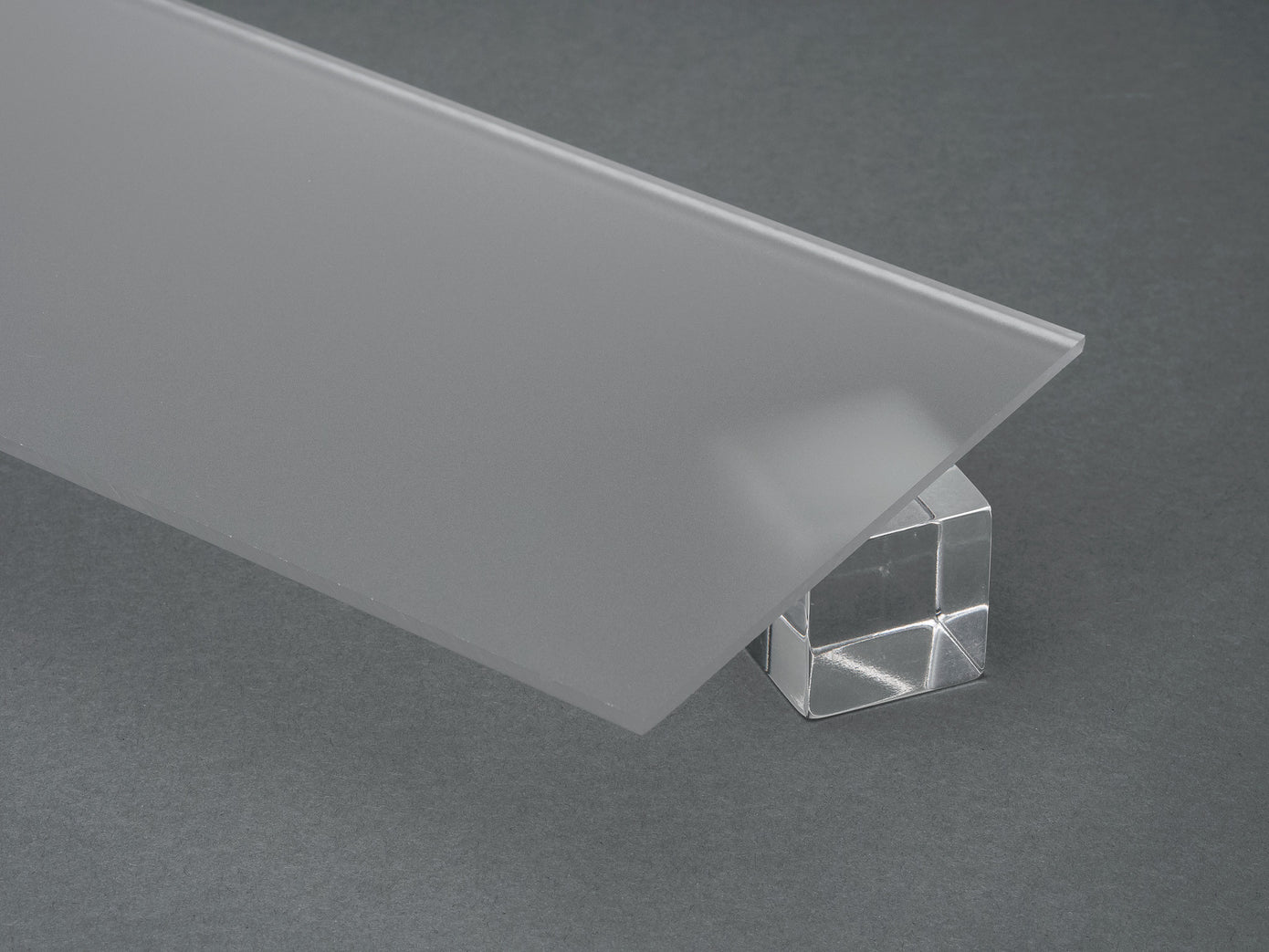 Clear Colorless P95 Matte Acrylic Sheet Canal Plastics Center