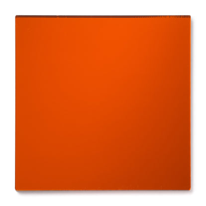 Orange Mirror Acrylic Plexiglass Sheet, color 1119