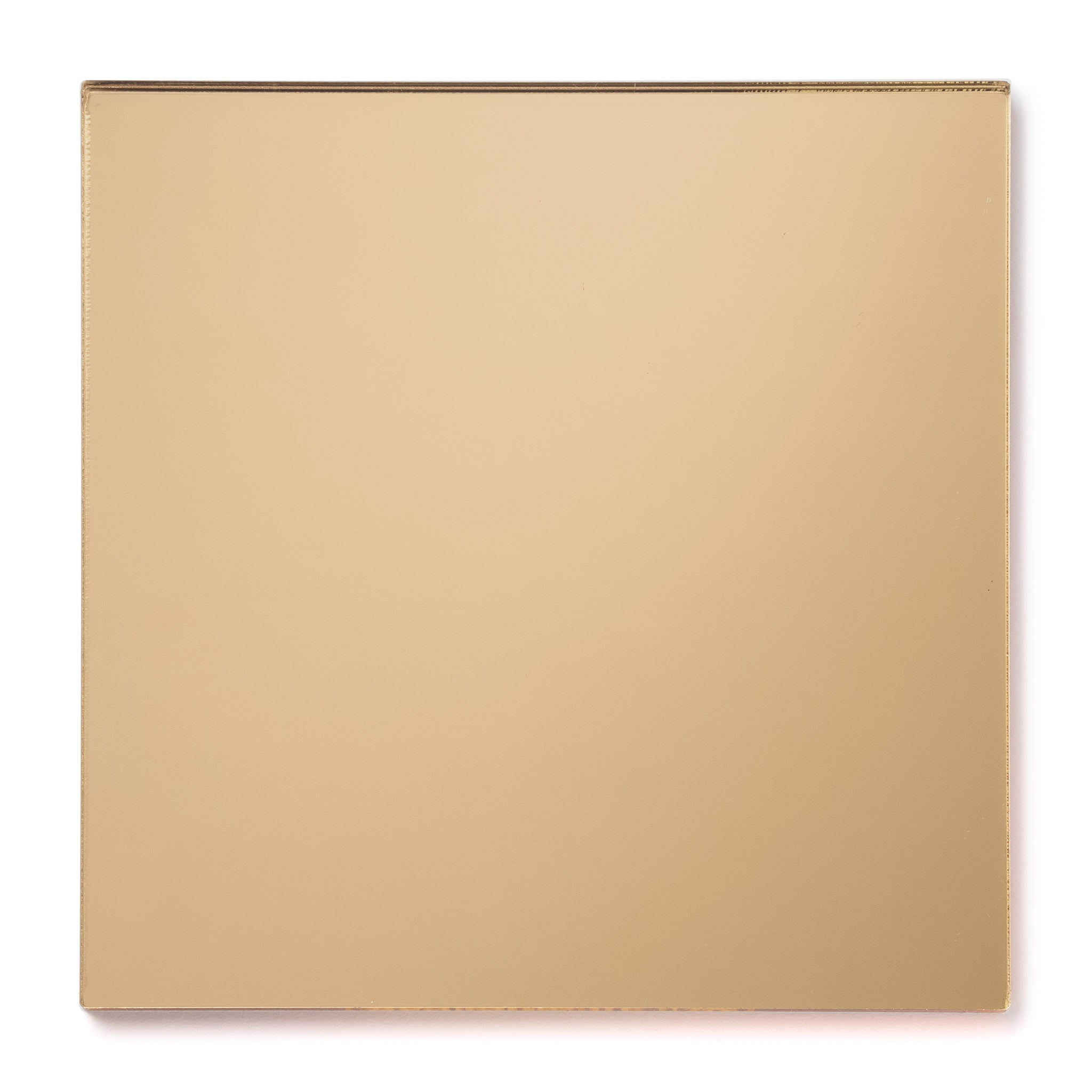 Gold Mirror Acrylic Plexiglass Sheet, color 1300