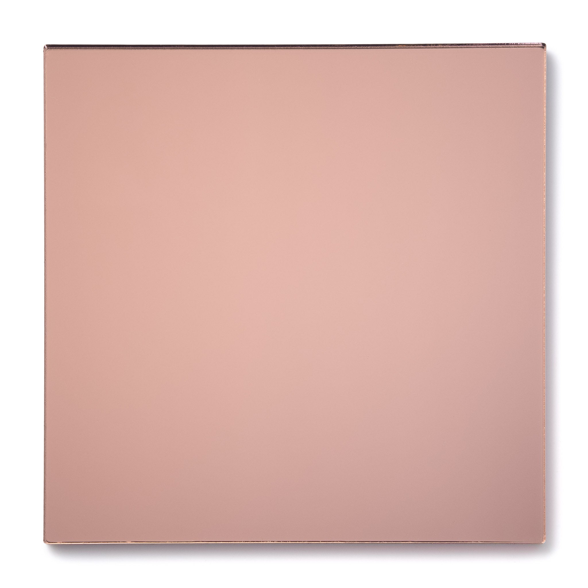 Rose Gold Mirror Acrylic Plexiglass Sheet, color 1350