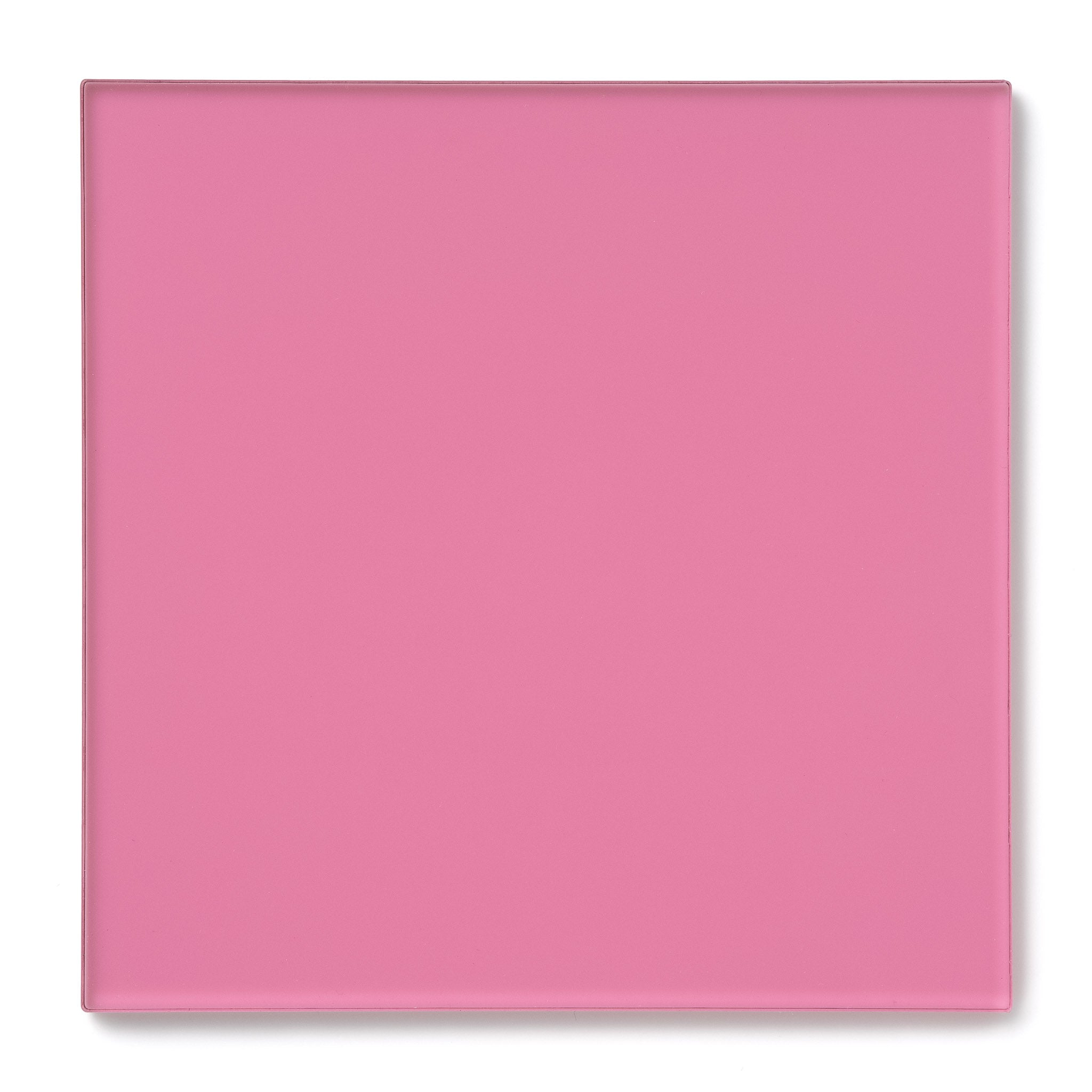 Pink Transparent Acrylic Plexiglass Sheet, 1450