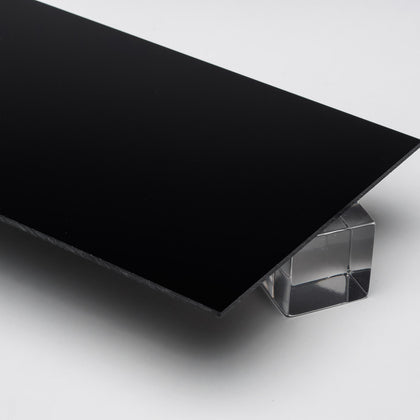 Black Opaque Acrylic Plexiglass Sheet, color 2025