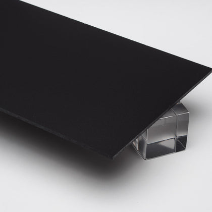 Black Opaque P95 Matte Acrylic Plexiglass Sheet, color 2025