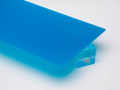 Blue Translucent Acrylic Sheet