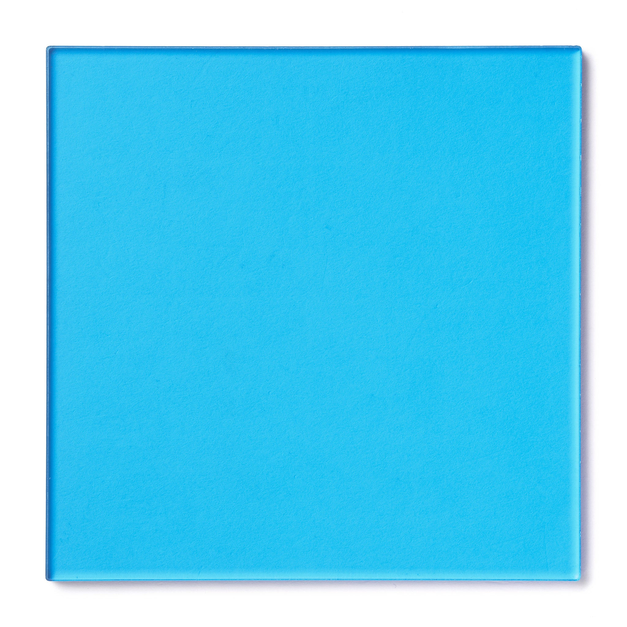 Light Blue Transparent Acrylic Plexiglass Sheet, color 2069