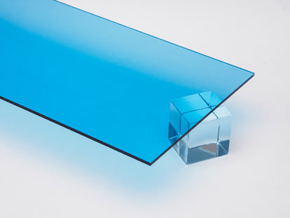 Light Blue Transparent Acrylic Sheet