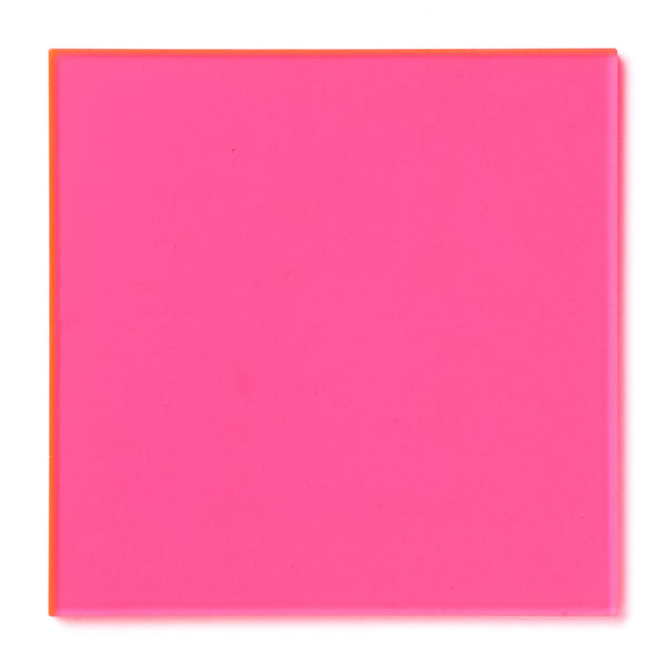 Pink Fluorescent Acrylic Sheet Canal Plastics Center