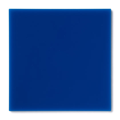 Dark Blue Opaque Acrylic Plexiglass Sheet, color 2114