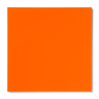Orange Opaque Acrylic Sheet