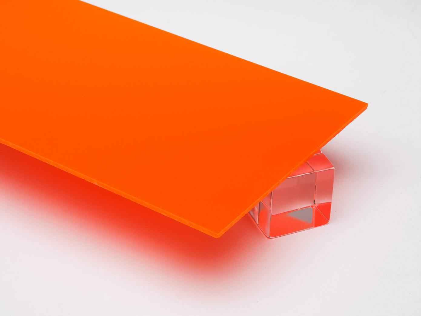 Orange Opaque Acrylic Sheet – Canal Plastics Center