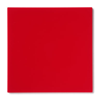 Red Opaque Acrylic Sheet