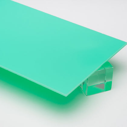Turquoise Opaque Acrylic Plexiglass Sheet, color 2324