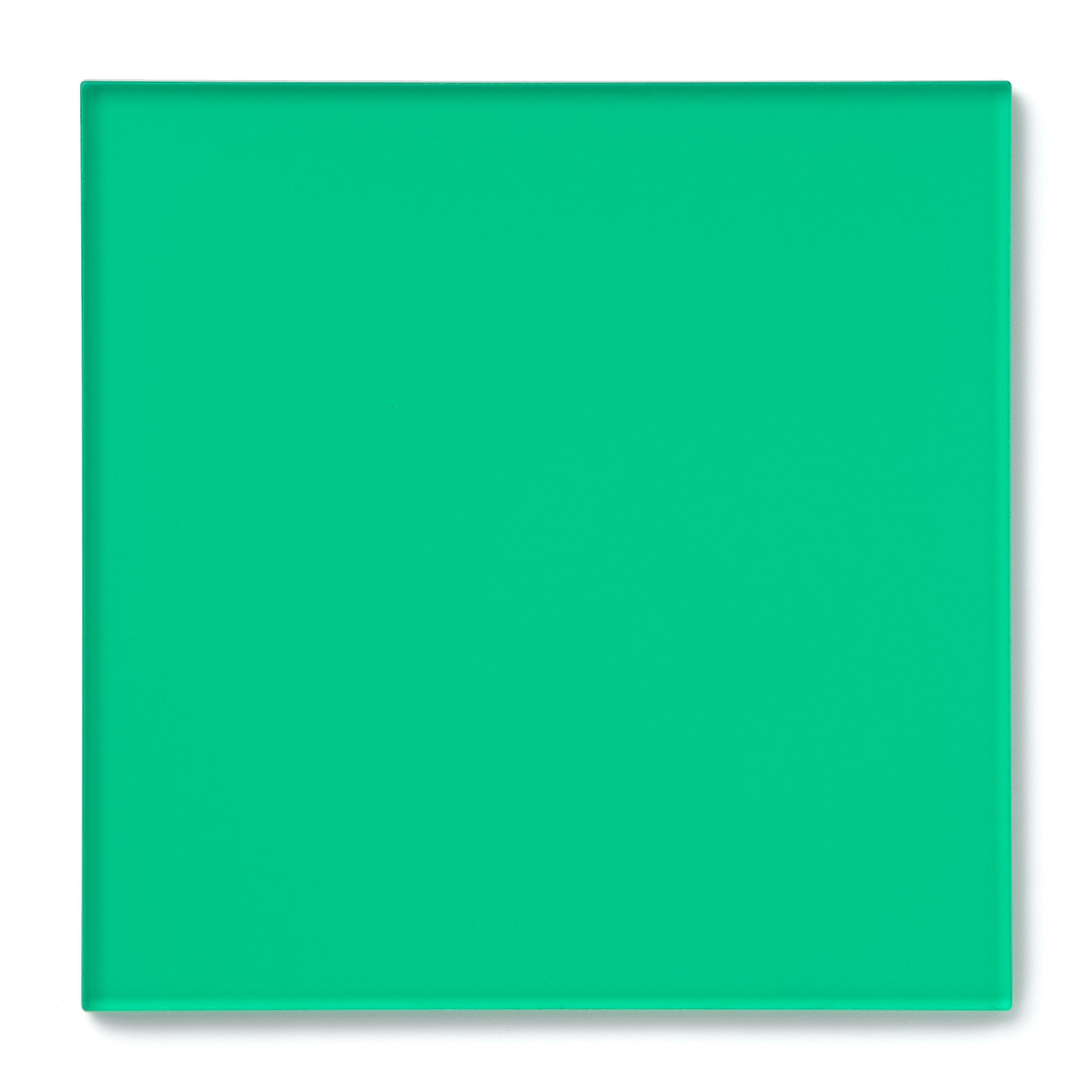 Mint Green Transparent Acrylic Plexiglass Sheet, color 2414
