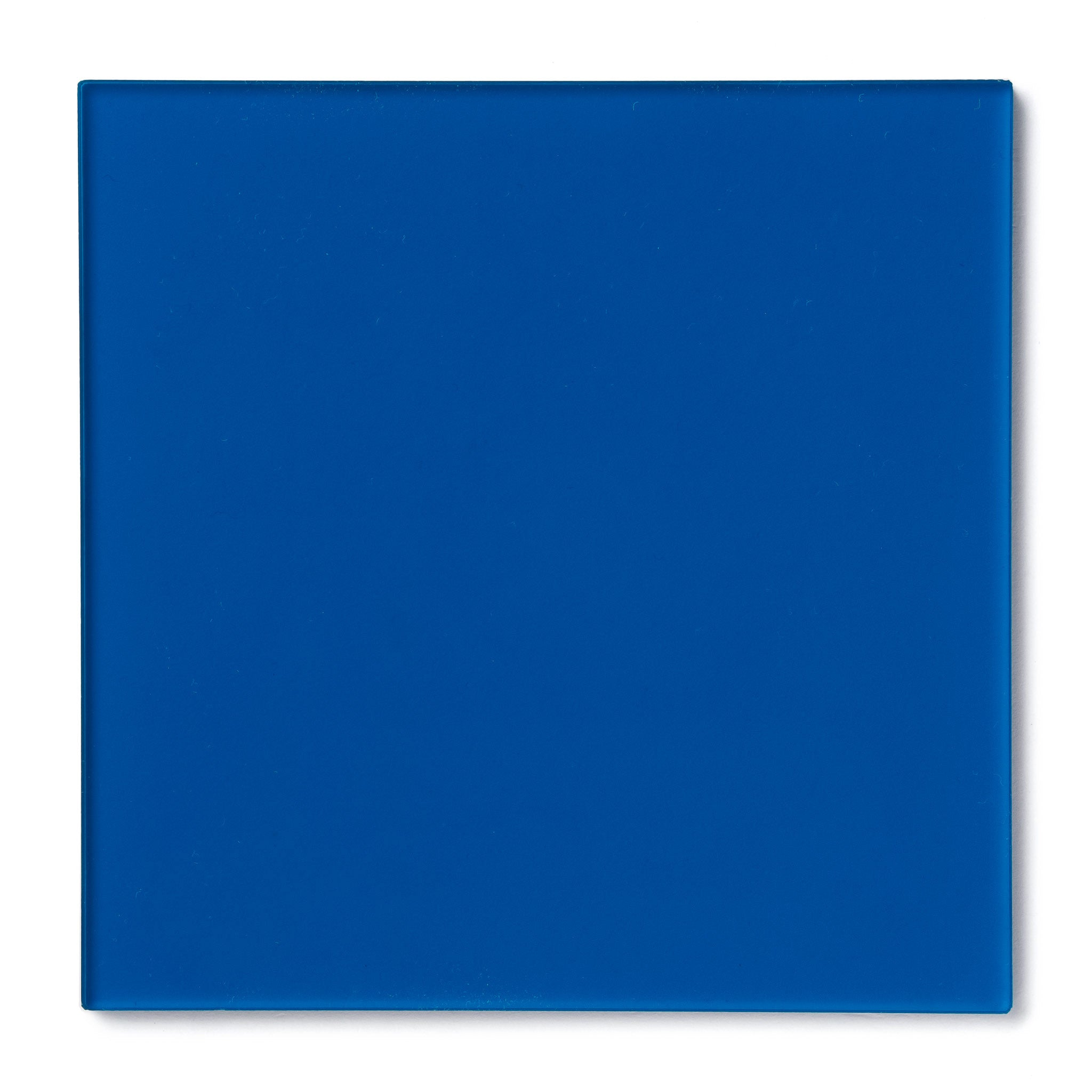 Dark Blue Transparent Acrylic Plexiglass Sheet, color 2424