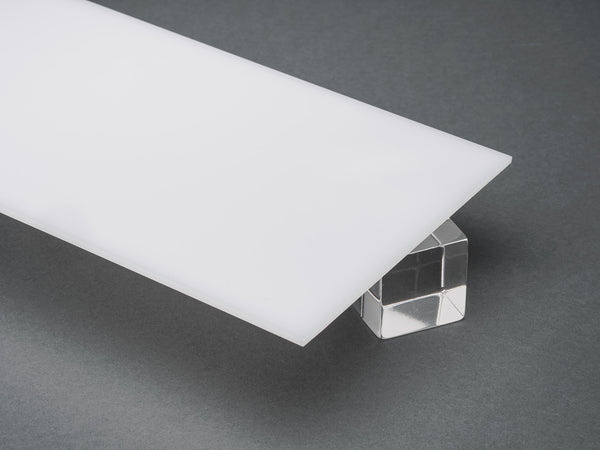 White Translucent Acrylic Sheet Canal Plastics Center