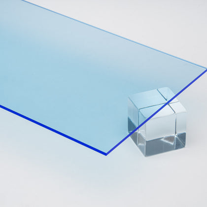 Blue Fluorescent Acrylic Sheet Canal Plastics Center