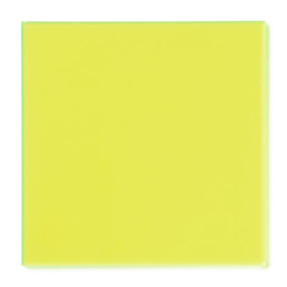 Green Fluorescent Acrylic Sheet