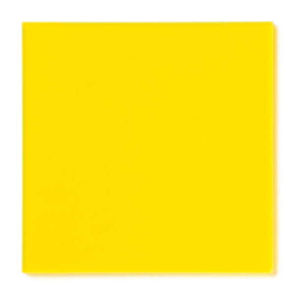 Yellow Fluorescent Acrylic Sheet Canal Plastics Center