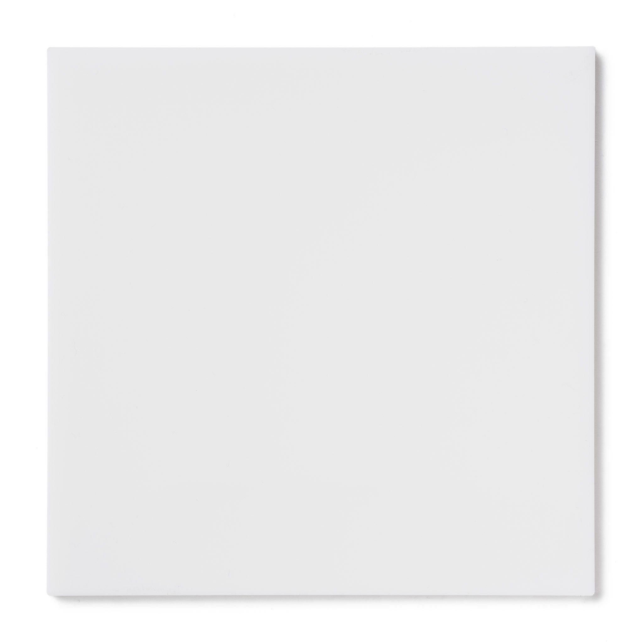 White Opaque Acrylic Plexiglass Sheet, color 7508