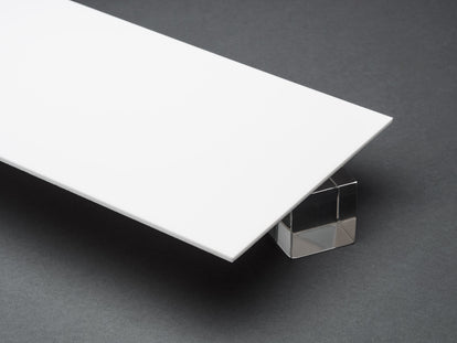 White Opaque P95 Matte Acrylic Sheet