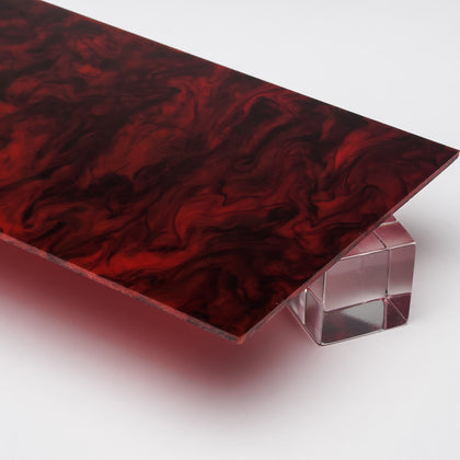Tortoise Shell Acrylic Plexiglass Sheet, color 9509