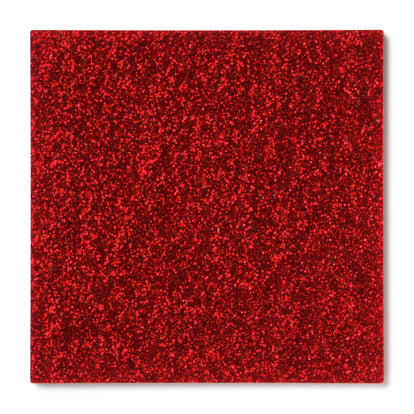 Red Glitter Acrylic Sheet
