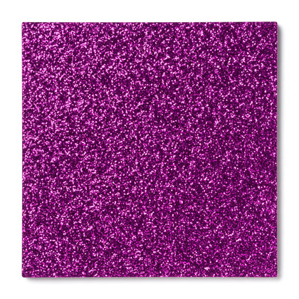 Fuschia Glitter Acrylic Plexiglass Sheet, color 9745D