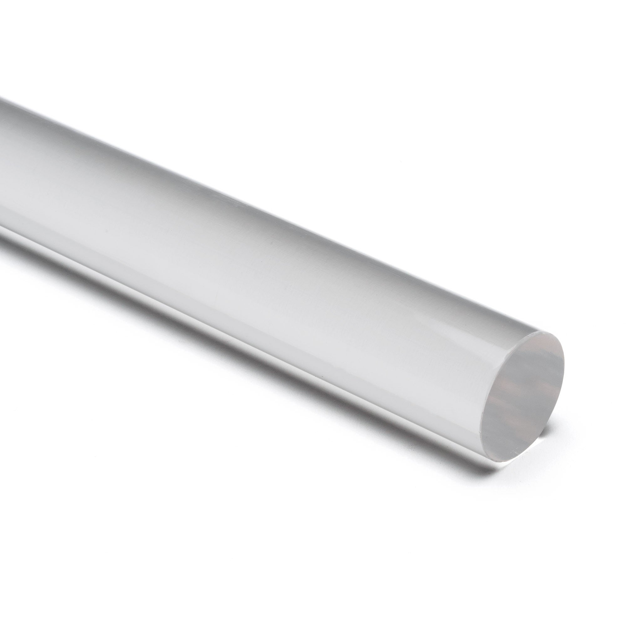 Clear Colorless Acrylic Round Rod