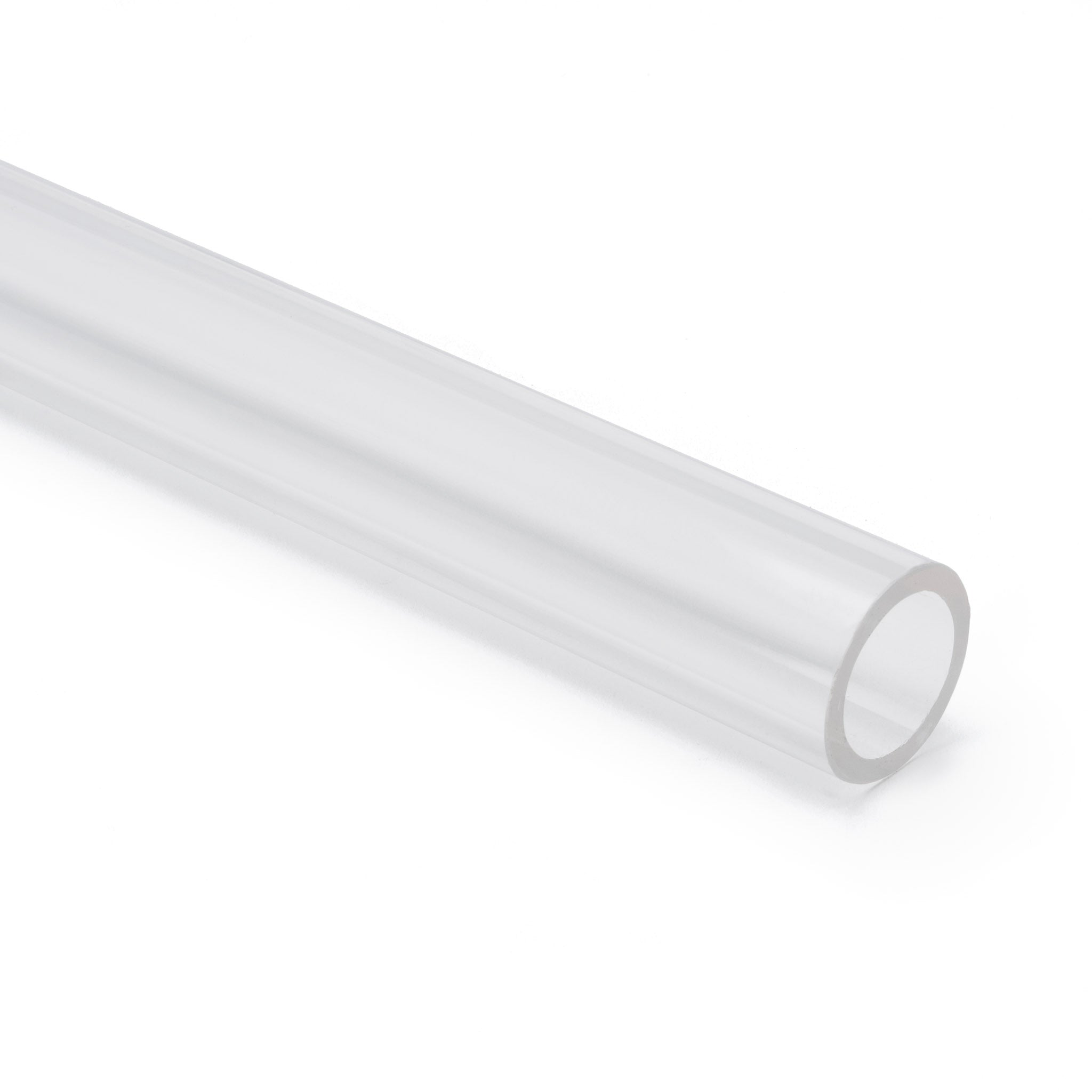 Clear Colorless Acrylic Round Tube