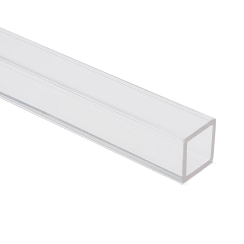 Clear Colorless Acrylic Square Tube