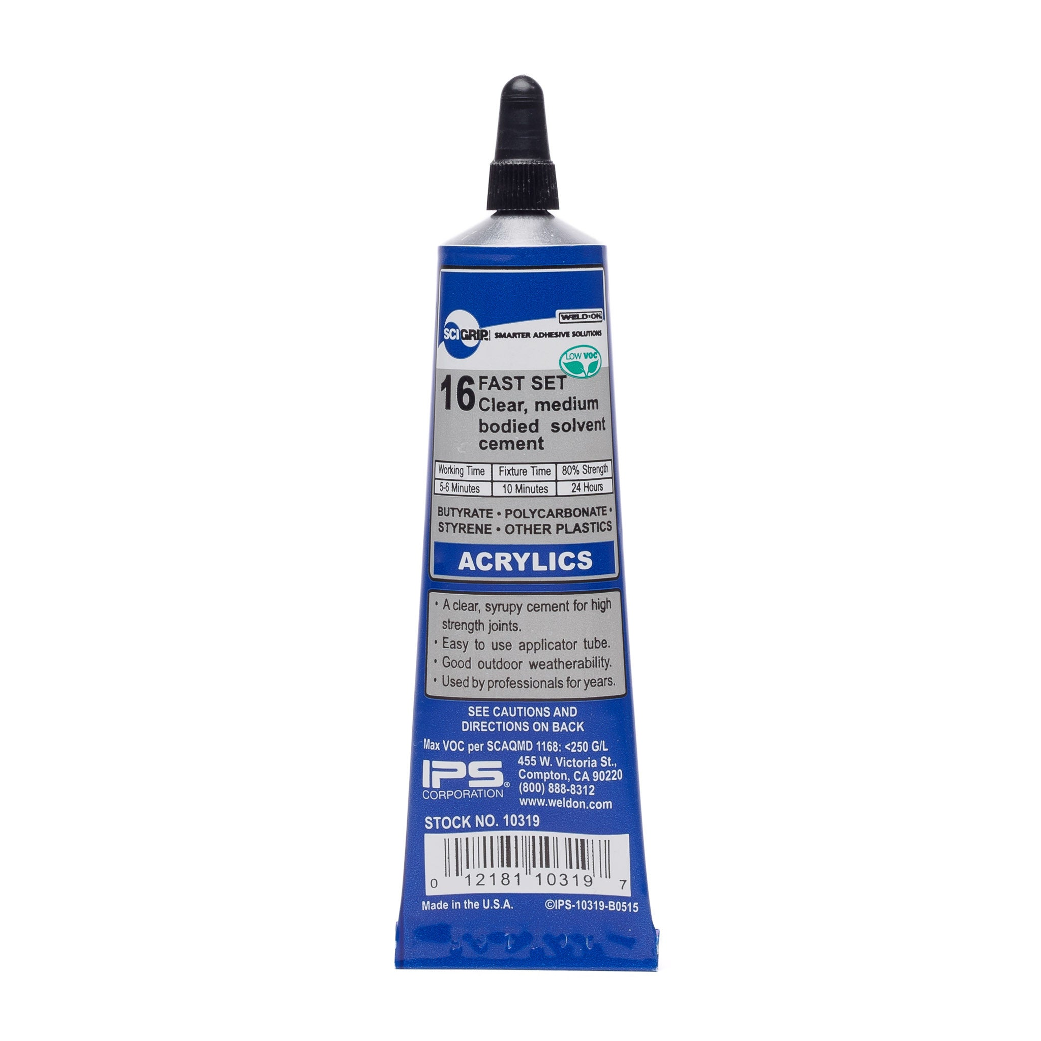 IPS Sci-Grip 16 Acrylic Solvent Cement