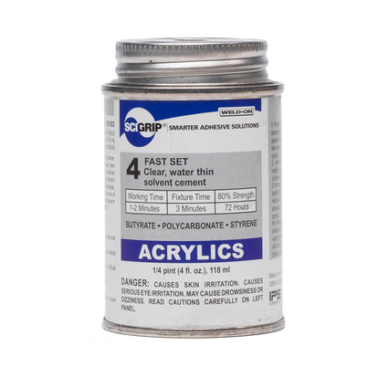 IPS Sci-Grip 4 Acrylic Solvent Cement