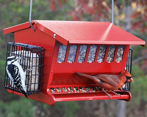 Heritage Farms Seeds & More Double-Sided Bird Feeder