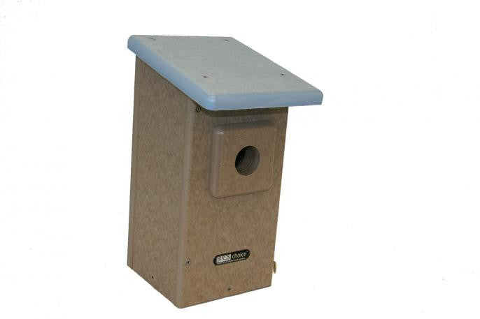 Recycled Bluebird House for Western Bluebirds