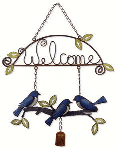 Bluebird Welcome Sign