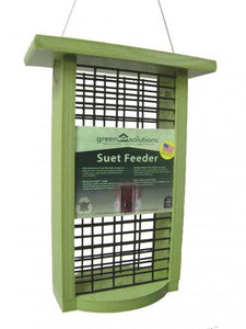 Double Suet Cake Feeder by Green Solutions