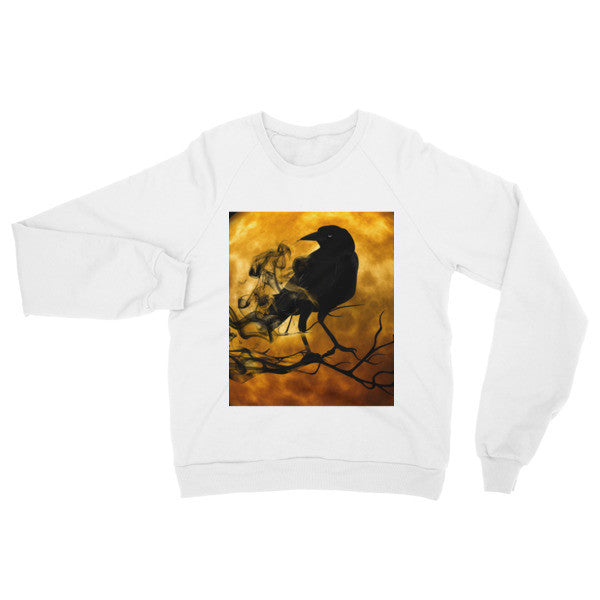 Raglan Sweater With Raven Moon